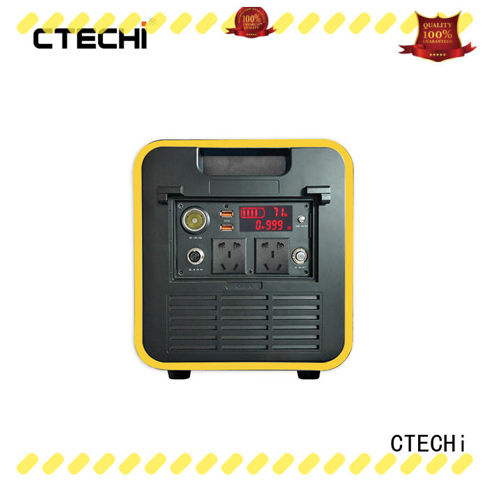 CTECHi certificated best portable power bank manufacturer for hospital