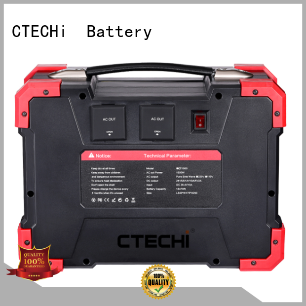 CTECHi sturdy emergency power bank manufacturer for hospital