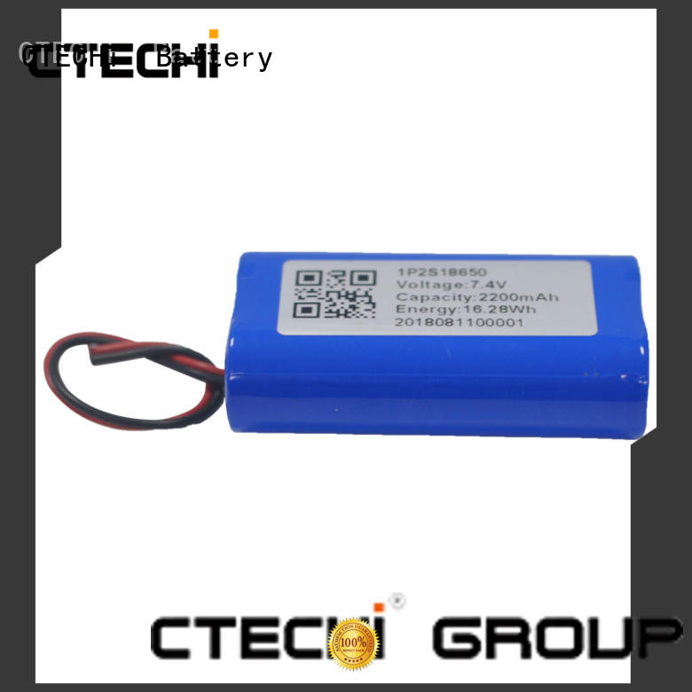 CTECHi professional li ion battery pack supplier for camera