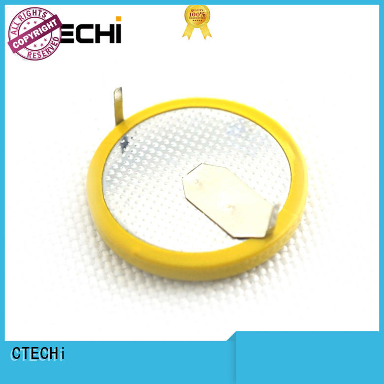CTECHi electronic coin cell battery supplier for instrument