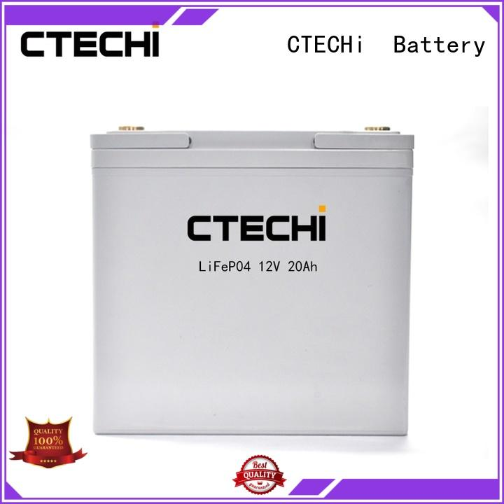 CTECHi camping battery pack personalized for golf cart