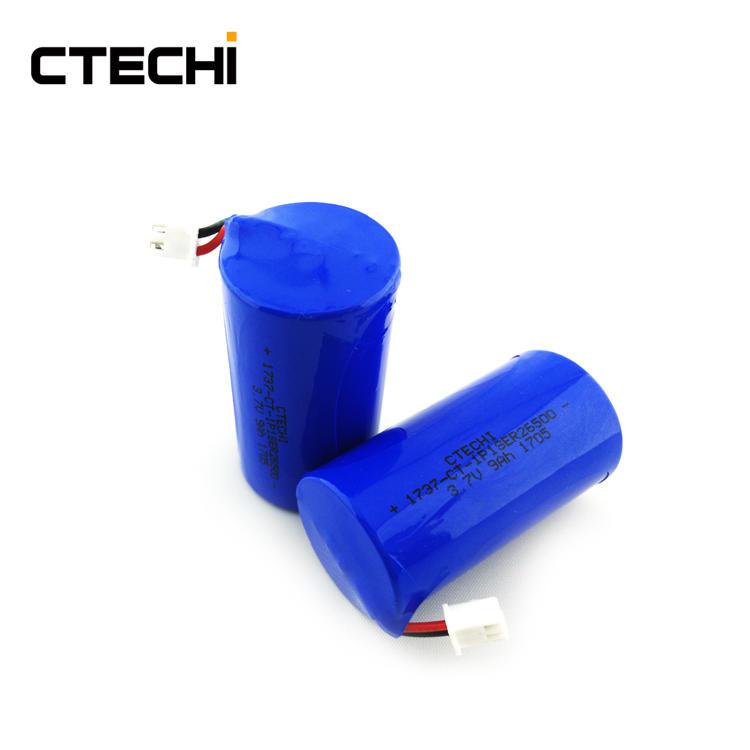 Non-rechargeable lithium battery ER26500 3.7V