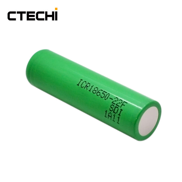 high capacity lithium battery ICR18650-22F 3.6V
