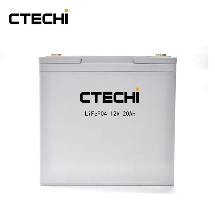 high power LiFePO4 battery pack 12V