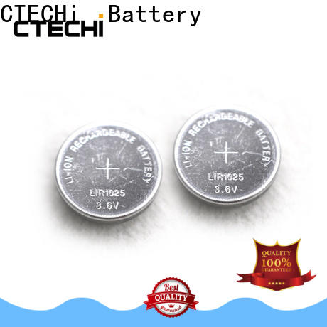 small rechargeable button cell factory for watch