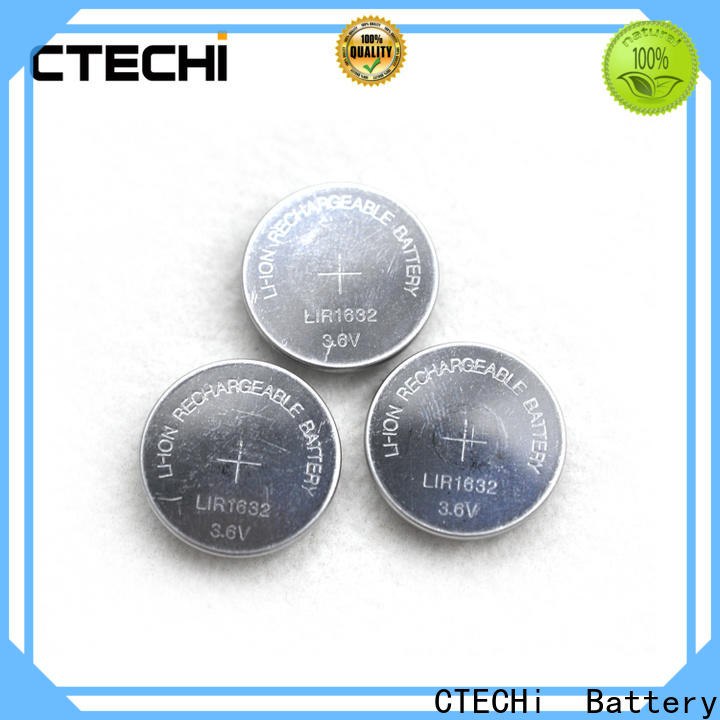 CTECHi rechargeable coin cell battery design for watch