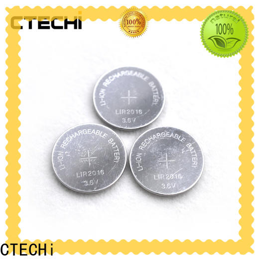 CTECHi rechargeable button cell manufacturer for calculator