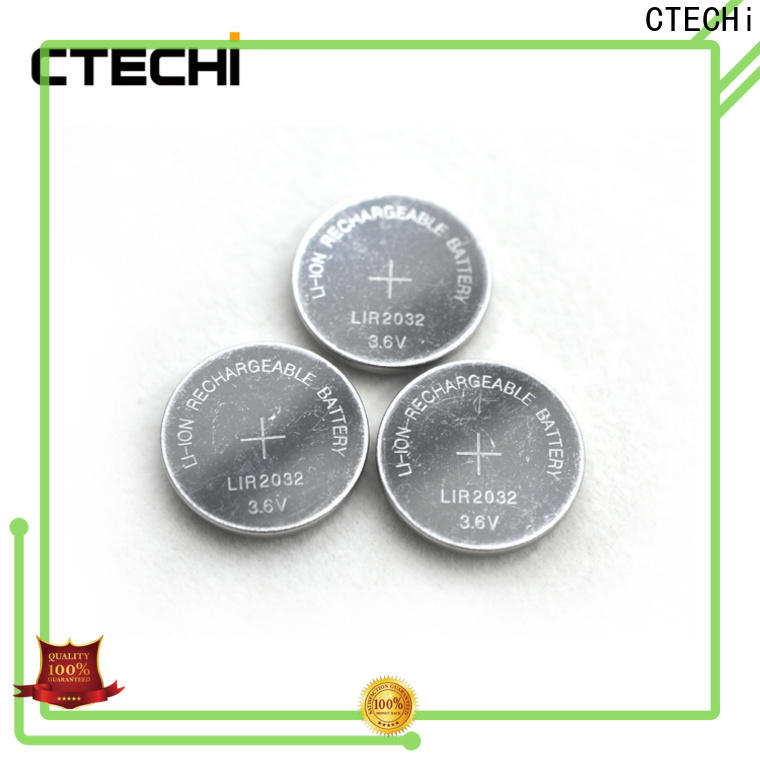 CTECHi rechargeable coin cell wholesale for calculator