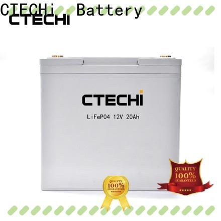 CTECHi 48v lifepo4 battery customized for golf car
