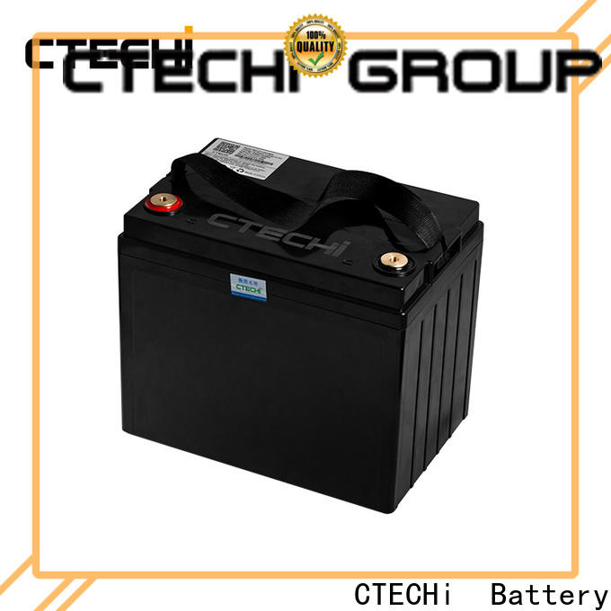 CTECHi lifepo4 battery cells supplier for travel