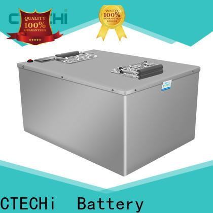 CTECHi 12v 24v lifepo4 battery personalized for solar energy