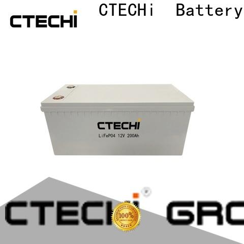 CTECHi lifepo4 battery 12v personalized for golf car