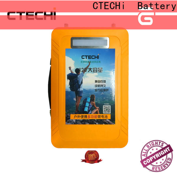 CTECHi lifepo4 battery 12v supplier for RV