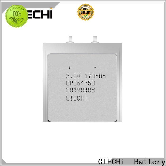 CTECHi micro-thin battery manufacturer for factory