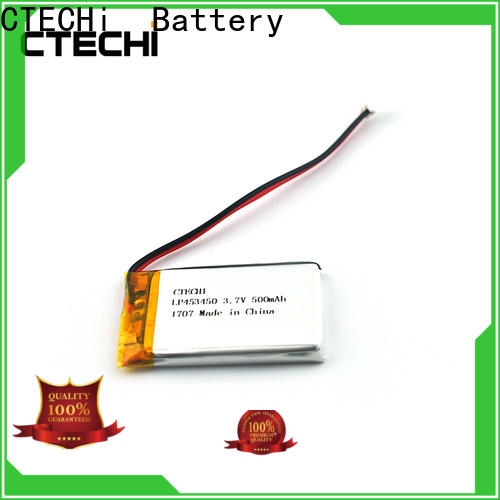 CTECHi square lithium polymer battery 12v customized for phone