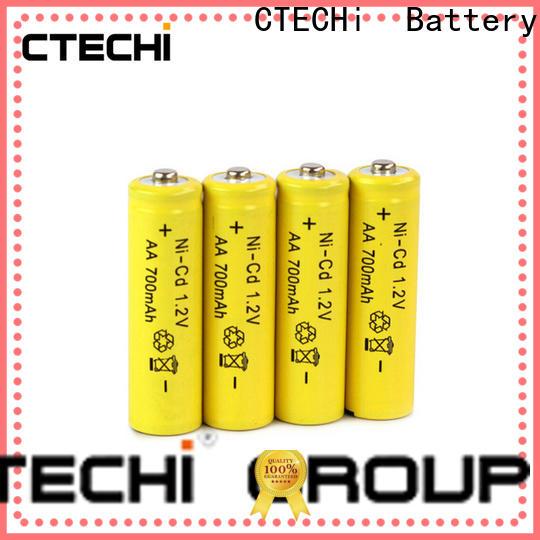 CTECHi wide temperature range nickel-cadmium battery factory for emergency lighting