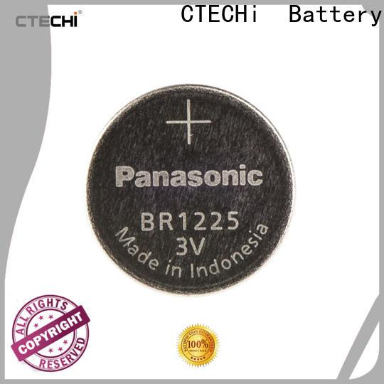 CTECHi durable panasonic lithium battery personalized for flashlight