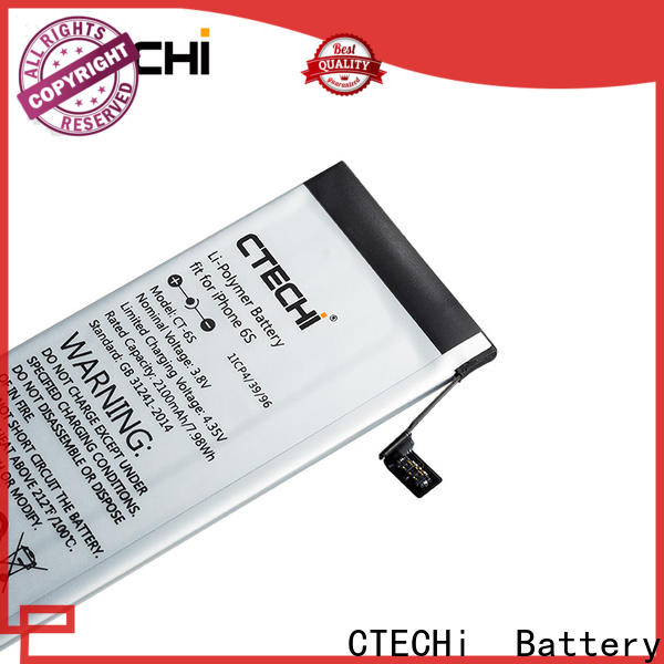 CTECHi iPhone battery design for store