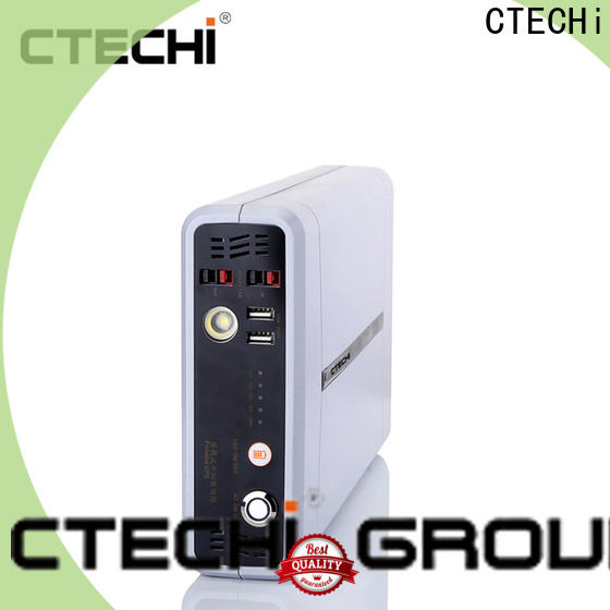 CTECHi quality emergency power bank factory for back up