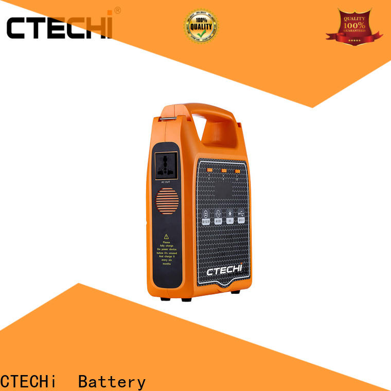 CTECHi emergency power bank personalized for back up