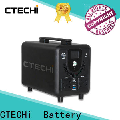 CTECHi quality emergency power bank factory for hospital