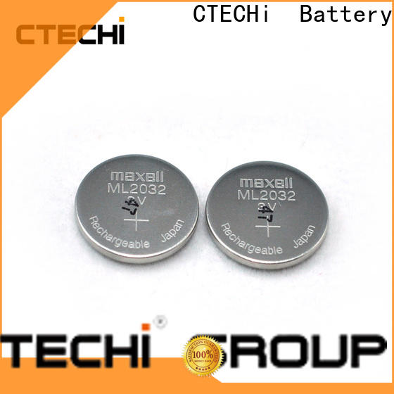 CTECHi rechargeable coin cell wholesale for household