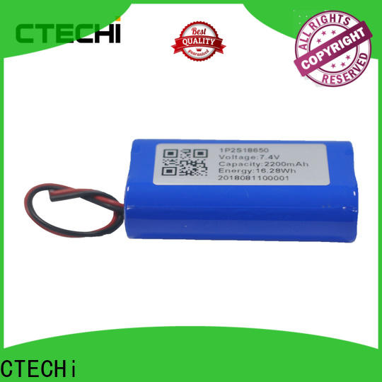 2200mah rechargeable battery pack design for drones