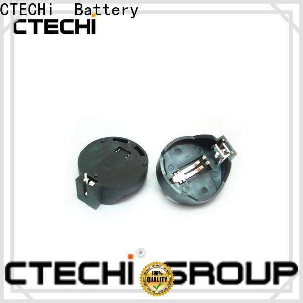 CTECHi coin cell battery holder supplier for shop