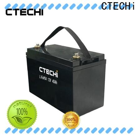 CTECHi camping battery pack manufacturer for golf cart