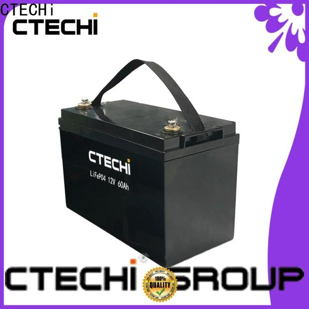 CTECHi stable emergency battery pack manufacturer for golf cart