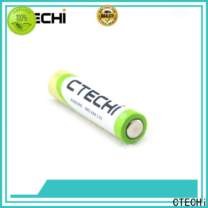 CTECHi AAA size recharge alkaline batteries supplier for electronic products
