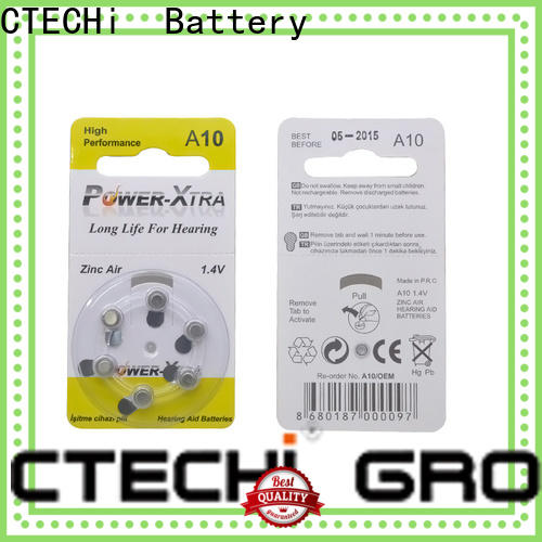 high power zinc air battery supplier for remote key