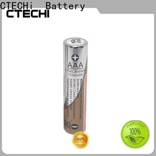 CTECHi 2900mah aa lithium batteries design for remote controls