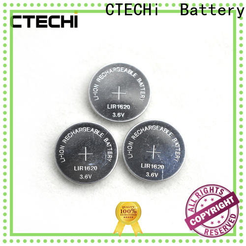 CTECHi small rechargeable button cell batteries manufacturer for car key
