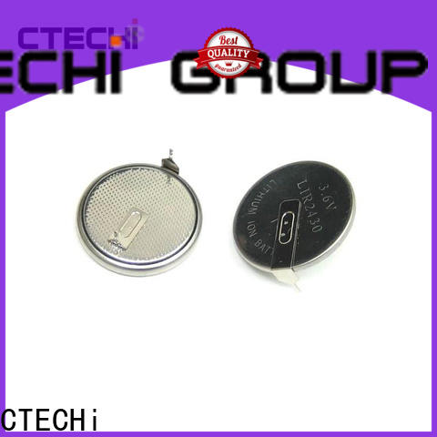 CTECHi charging rechargeable coin batteries manufacturer for household