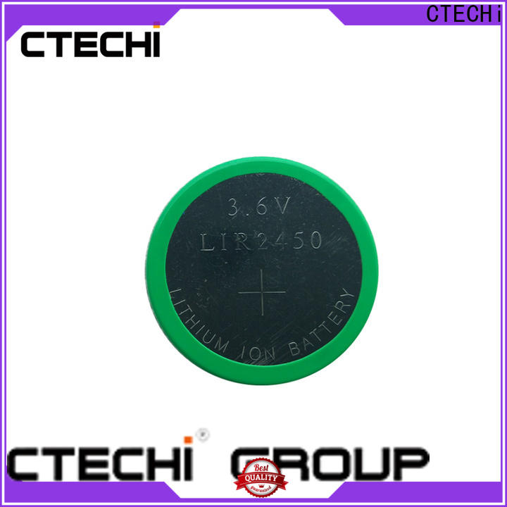 digital rechargeable coin cell battery design for household