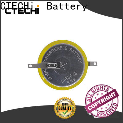 CTECHi rechargeable coin cell battery factory for household