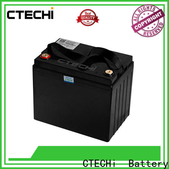 CTECHi 12v lifepo4 battery charger personalized for solar energy