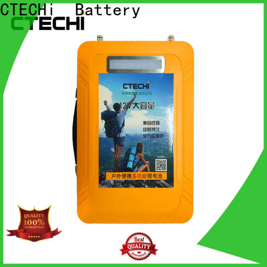 CTECHi lifepo4 battery charger personalized for travel