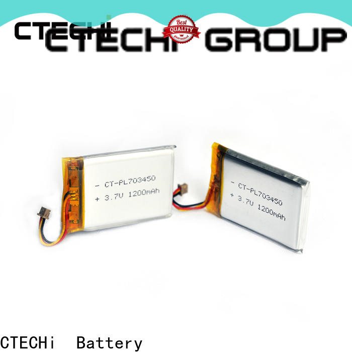 CTECHi li-polymer battery customized for electronics device