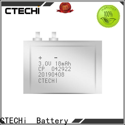 CTECHi micro-thin battery series for industry