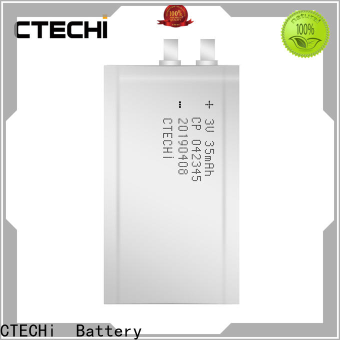 CTECHi ultra-thin battery series for industry