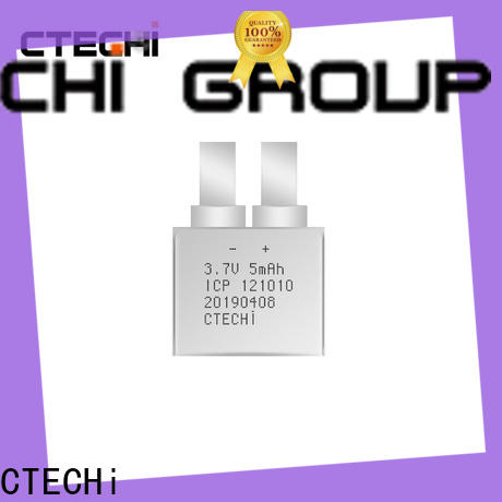 CTECHi practical micro-thin battery series for manufacture