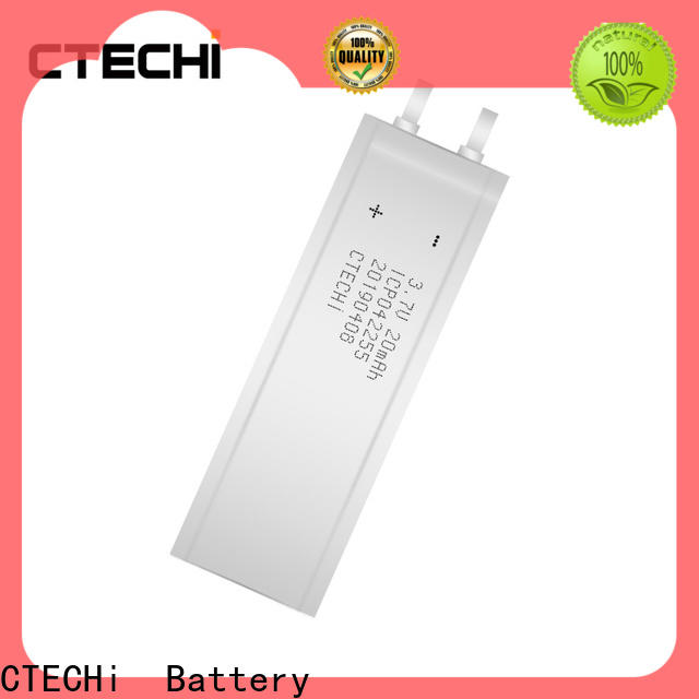 CTECHi reliable micro-thin battery directly sale for manufacture