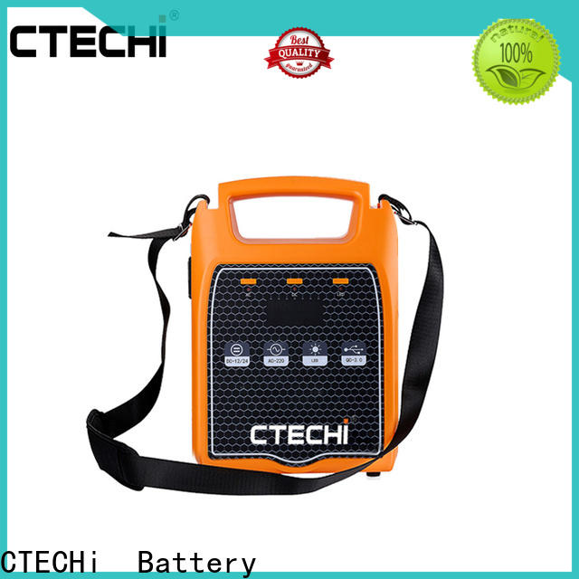 CTECHi emergency power bank factory for back up