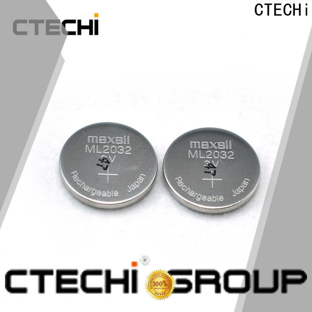 CTECHi digital rechargeable button cell wholesale for watch