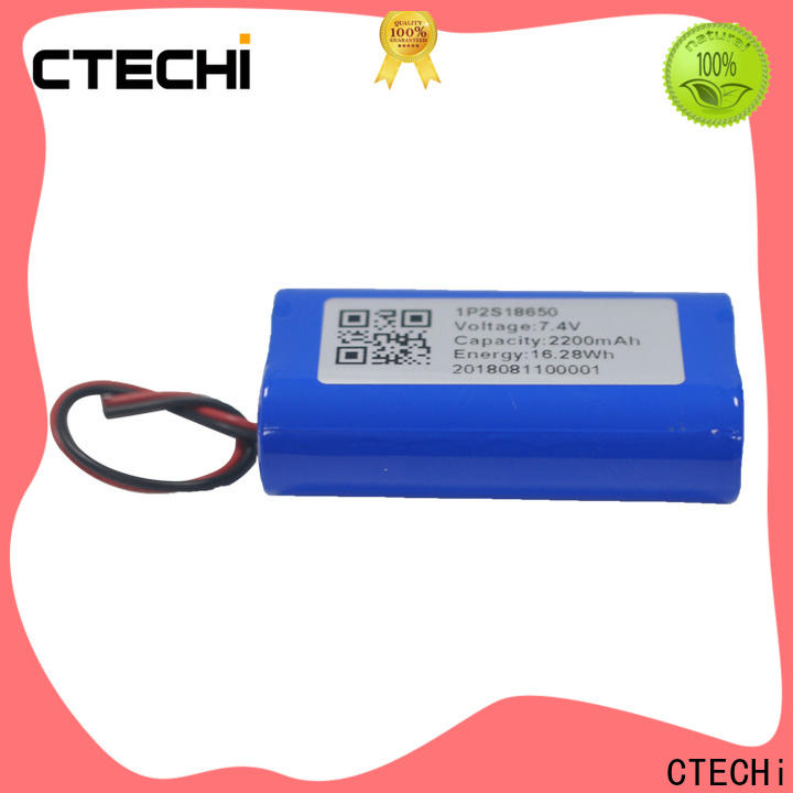 CTECHi li ion battery pack supplier for power bank