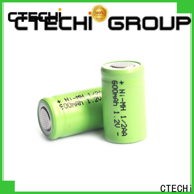 CTECHi long-lasting nickel-metal hydride batteries customized for lamp