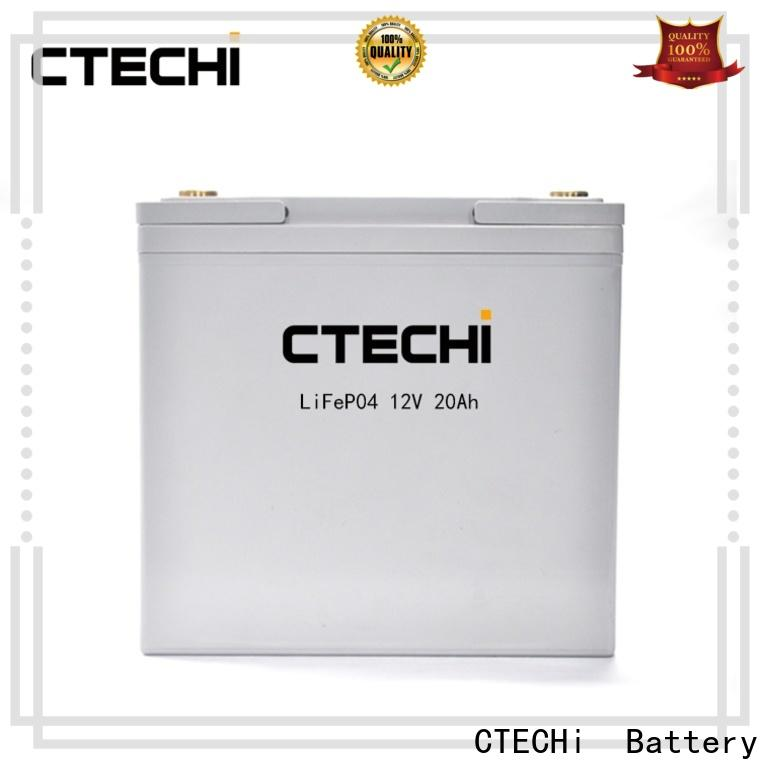 CTECHi cell battery pack customized for golf cart