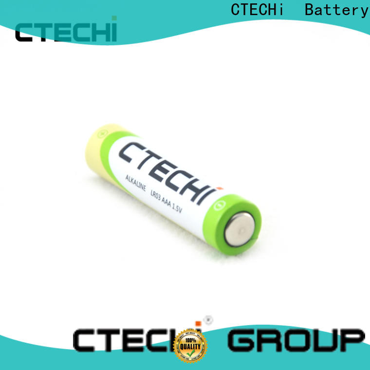 CTECHi dry aaa alkaline battery series for remote controls